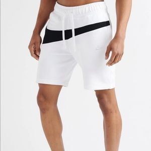 Nike Men's Big Swoosh Sweatshorts French Terry